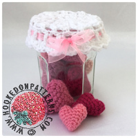 Jar of Hearts Free Crochet Pattern