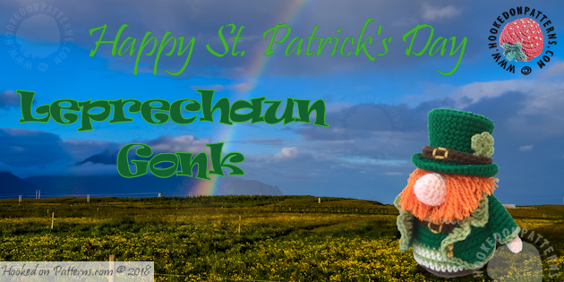 Leprechaun Gonk Outfit Free Crochet Pattern