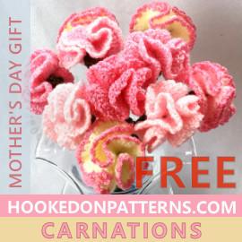 Free Crochet Flowers Pattern