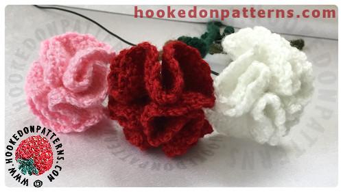 Amigurumi Flowers Free Patterns : Free crochet flowers pattern for carnations