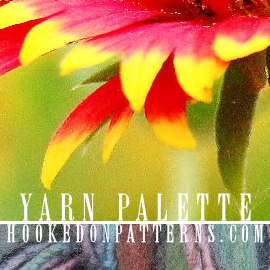 Yarn Color Palette Scheme 03 Yellow Butterflies