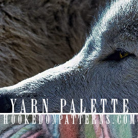 Yarn Palette Color Scheme 04 Wolves - Color combinations inspired by beautiful photographs. Visit the blog post for the recommended yarn brand and color codes, includes both US and UK suggestions.