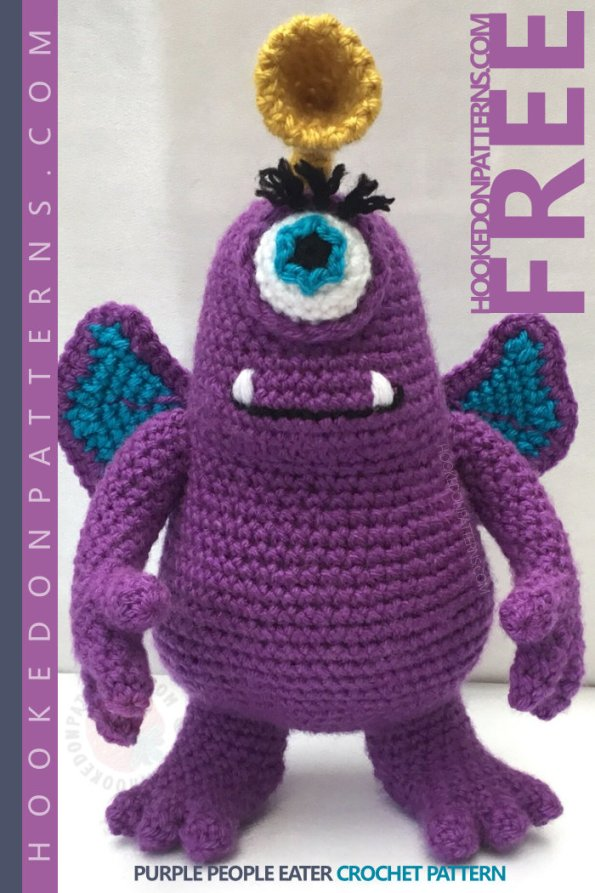Toy Monster Free Crochet Pattern
