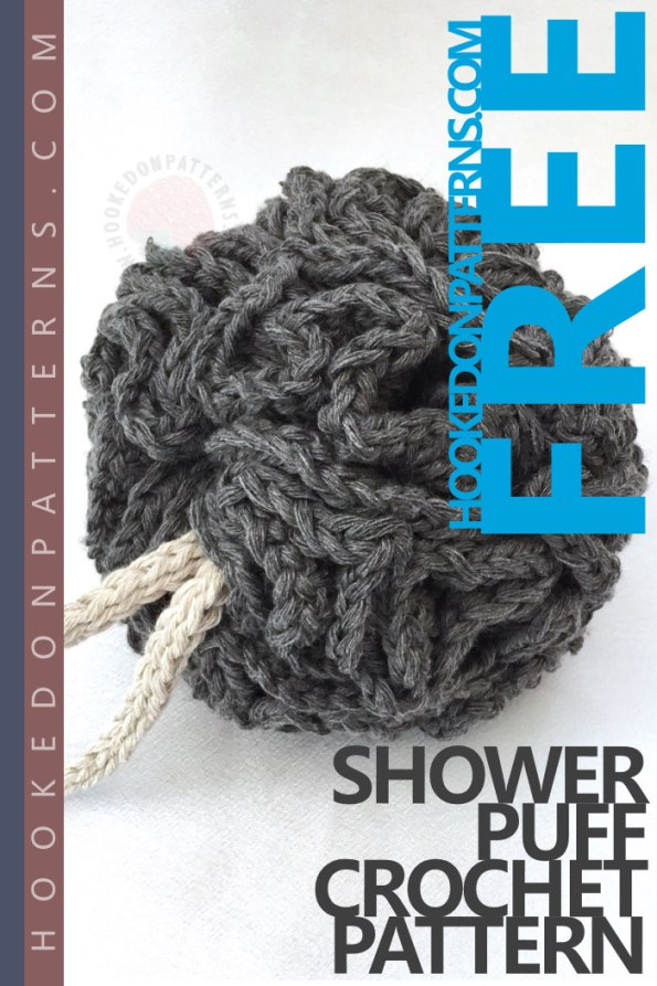 Free Crochet Shower Puff Pattern Hooked On Patterns