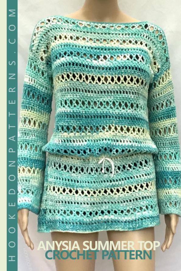 Anysia Summer Top Crochet Pattern