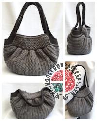 Crochet Patterns to Wear -Audrey Hobo Bag