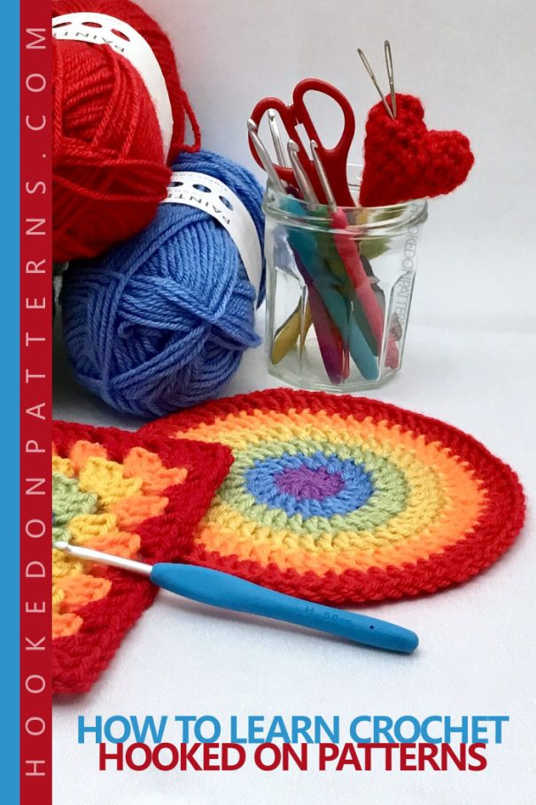 HOW TO LEARN CROCHET – BEGINNERS GUIDE NEW - How to learn crochet: Have you thought about learning crochet, but are unsure of what you would need or where to start? This is a complete guide. #crochet #handmade #hobby