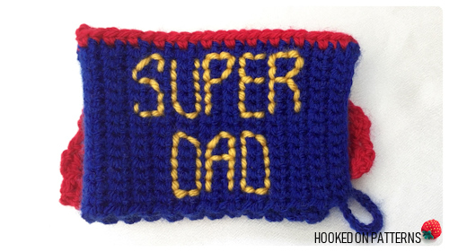 father's day crochet gift
