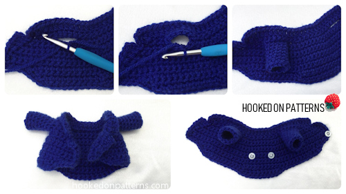 Independence Day Crochet Pattern Uncle Sam Gonk Free Outfit