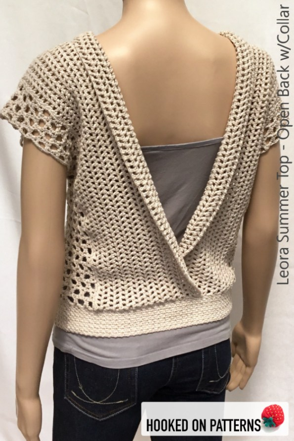 Crochet Summer Top Pattern For A Versatile Vest - Hooked On Patterns