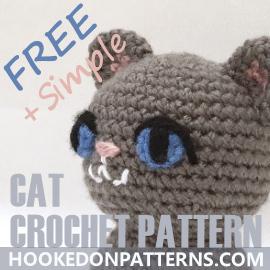 Free Cat Crochet Pattern - Free Crochet Patterns