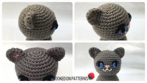 Simple Free Crochet Cat Pattern Hooked On Patterns