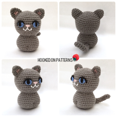 Free Crochet Cat Pattern - Free Crochet Patterns Blogger