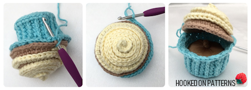 Free Cupcake Pin Cushion Crochet Pattern