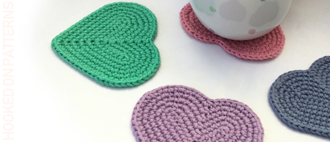 photograph relating to Free Printable Crochet Patterns named No cost Middle Coaster Crochet Habit - Hooked Upon Models