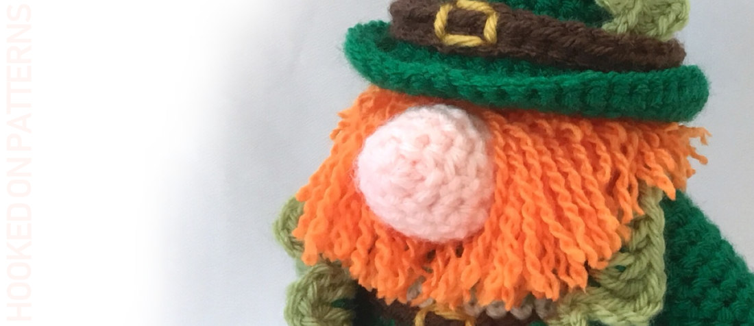 Free St. Patrick's Day Gonk Outfit Crochet Pattern
