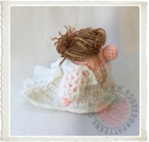 Bride Gonk Crochet Pattern thumbnail button image