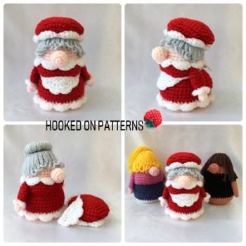 Christmas Eve Gonk Crochet Pattern