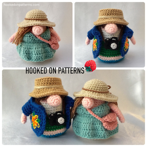 Tourist Gonks Crochet Pattern Main Image