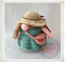 Vacation Gonk Free Crochet Pattern