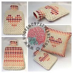 Free Hot Water Bottle Crochet Pattern