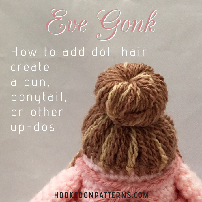 How To Add Doll Hair With Yarn – Eve Gonk