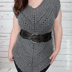 Free Crochet Tops Patterns: Angles Tunic Crochet Pattern