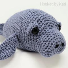 Chubby Manatee Free Crochet Pattern