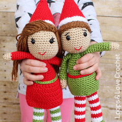 Elf Amigurumi Crochet Pattern