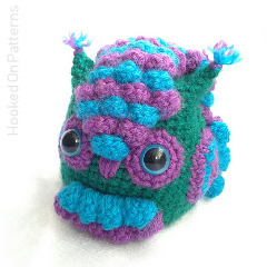 Feathered Owl Crochet Pattern