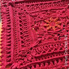 Laurel Square Crochet Pattern