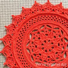 Leilani Doily Crochet Pattern