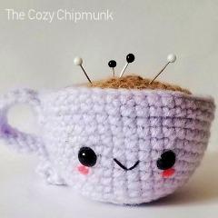Lil Cuppa Pincushion Crochet Pattern