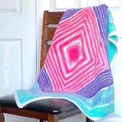 Merry-Go-Round Blanket Crochet Pattern