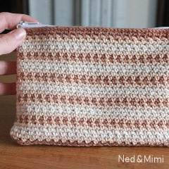 Free Zipper Pouch Crochet Pattern