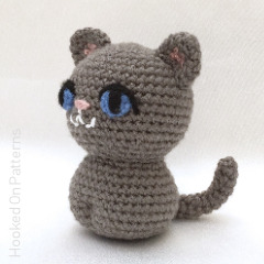 Simple Cat Amigurumi Free Crochet Pattern