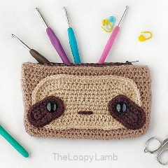 Sloth Hook Case Crochet Pattern