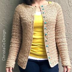 Spring Cardigan Crochet Pattern
