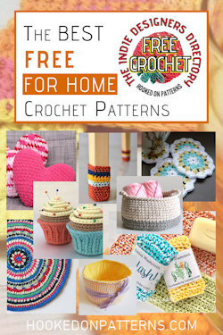 free crochet patterns for home