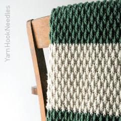 Alpine Blanket Free Crochet Pattern