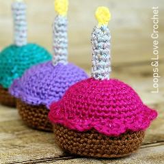 Crochet Cupcake Free Crochet Pattern