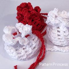 Drawstring Pouch Free Crochet Pattern