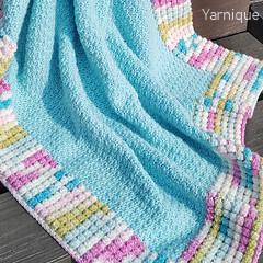 Le Ciel Bleu Blanket Crochet Pattern