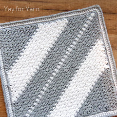 Moss Stitch c2c Washcloth Free Crochet Pattern