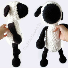 Sammy the Sheep Free Crochet Pattern