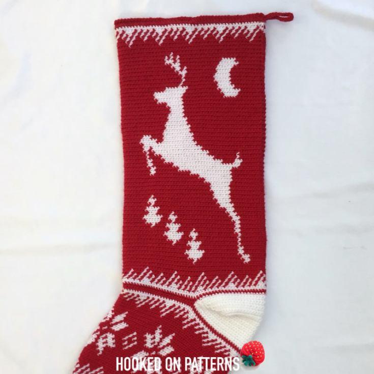 Christmas Crochet Idea: ChristmasStocking Gift Sack