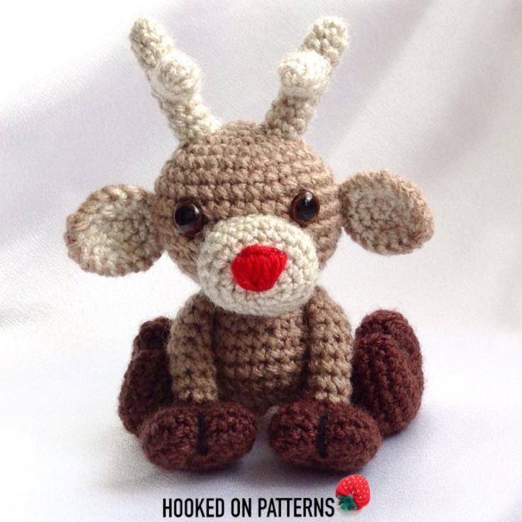 Noel the Reindeer Crochet Pattern