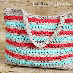 Beach Please Summer Tote Free Crochet Pattern