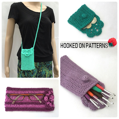 Bag Crochet PatternFloretta Purse & Case