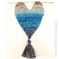 Heart Wall Hanging Free Crochet Pattern